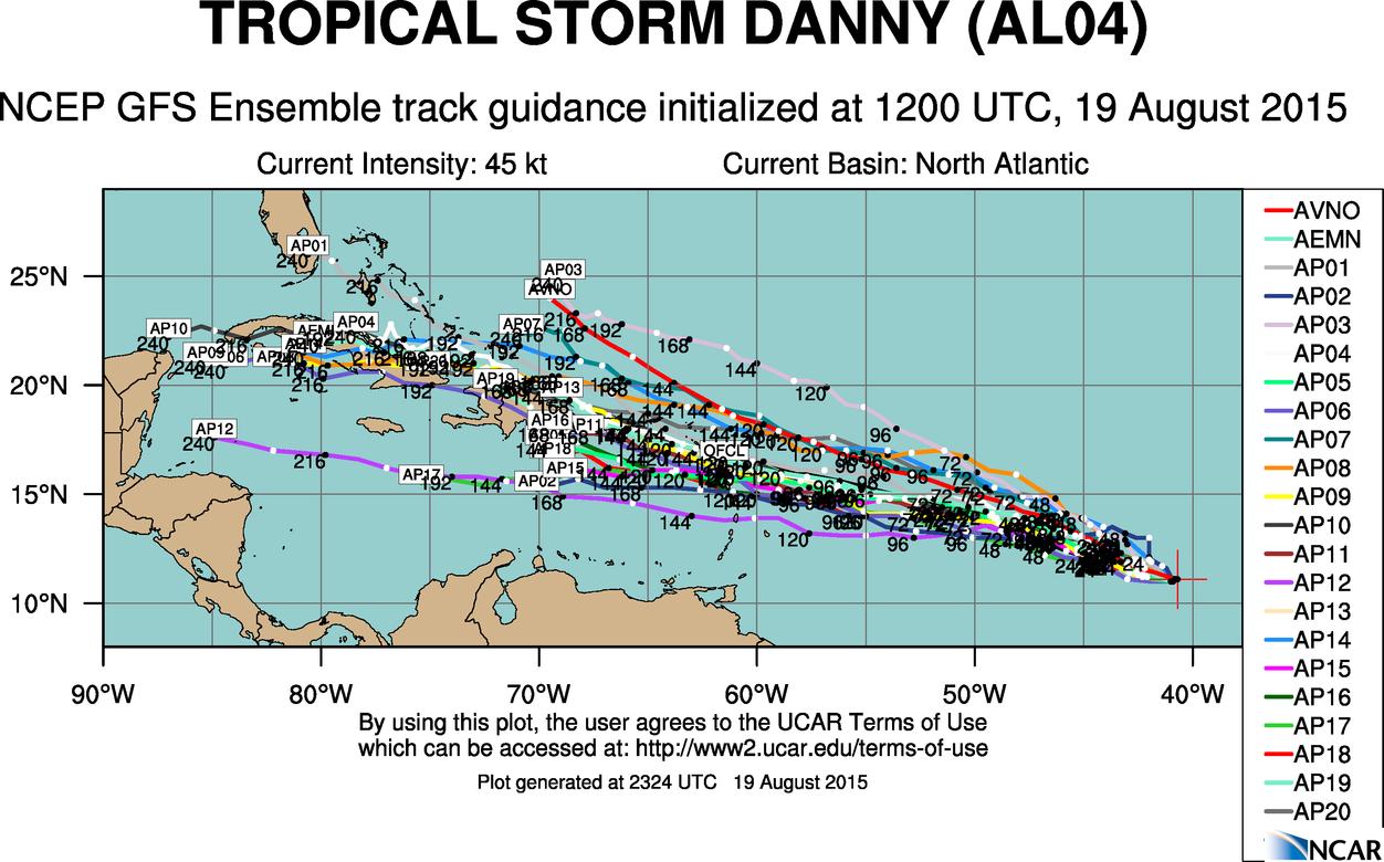 Danny Strengthens in Atlantic; Goni, Atsani Rev Up in Pacific ...